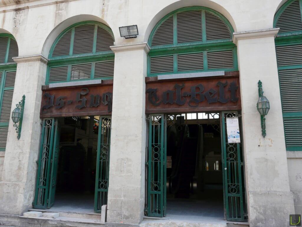 Alte Markthalle in Valletta